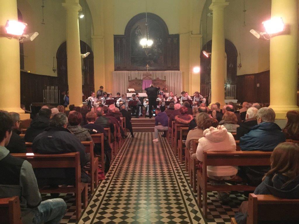 Cordes d'Argent de St PETERSBOURG - église de GOEULZIN - Janvier 2018